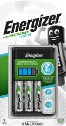 ENERGIZER gyorstöltő + 4 db AA Extreme 2300mAh (4/karton)