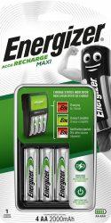 ENERGIZER Maxi töltő + 4 db AA Power+ 2000mAh akku (4/karton)