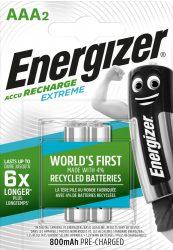 ENERGIZER Extreme B2 AAA 800mAh mikro akku 2 db (12/karton)