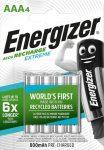 ENERGIZER Extreme B4 AAA 800mAh mikro akku 4 db (12/karton)