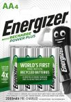 ENERGIZER Power+ B4 AA 2000mAh ceruza akku 4 db (12/karton)
