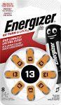 ENERGIZER Zinc Air 13 DP-8 8 db (6/karton)