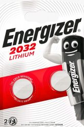 ENERGIZER CR2032 B2 Líthium 2 db (10/karton)