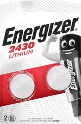 ENERGIZER CR2430 B2 Líthium 2 db (10/karton)