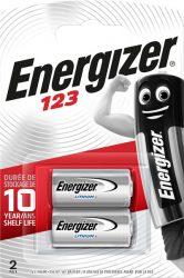 ENERGIZER 123 Photo B2 Líthium 2 db (6/karton)