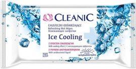 Cleanic frissítő törlőkendő - Antibacterial ICE COOLING 15 lapos (24/karton)