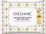 Cleanic lehúzható nedves toalett kendő 60 db (10db/karton)