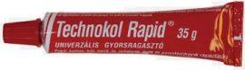 Technokol Rapid 35 g piros univerzális iskolai és barkácsragasztó (100/karton)