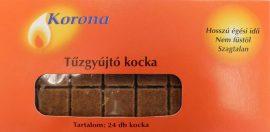 Korona tűzgyújtó kocka 32 db-os (28/karton)