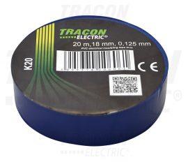 PVC Szigetelőszalag 20m*18mm KÉK (10/zsugor, 250/karton)