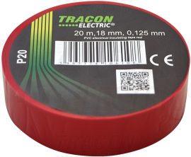 PVC Szigetelőszalag 20m*18mm PIROS (10/zsugor, 250/karton)