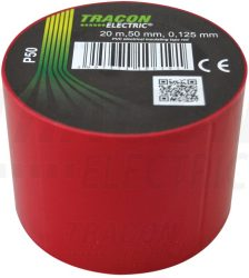 PVC Szigetelőszalag 20m*50mm PIROS (100/karton)