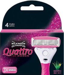 Wilkinson Quattro női borotvabetét 3 db-os (10/karton)