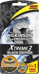 Wilkinson EXTREME3 Black 3+1 db-os eldobható borotva (10/karton)