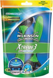 Wilkinson EXTREME3 Duo Comfort 4 db-os eldobható borotva (10/karton)