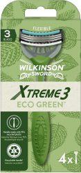Wilkinson EXTREME3 ECO Green 4 db-os eldobható borotva (10/karton)