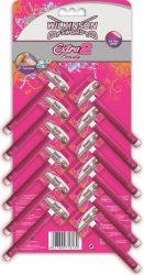 Wilkinson EXTRA2 Beauty kartella 1's női eldobható borotva (24/karton)
