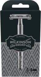 Wilkinson Classic Prémium férfi borotva készülék + 5's penge